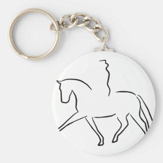 dressage keychains