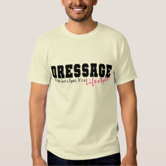Dressage Lifestyle Tshirt