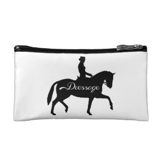 Dressage Makeup clutch Bag Cosmetic Bags
