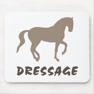Dressage (piaffe horse & text) mouse pad