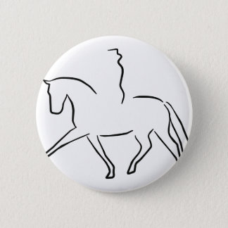 dressage pinback button