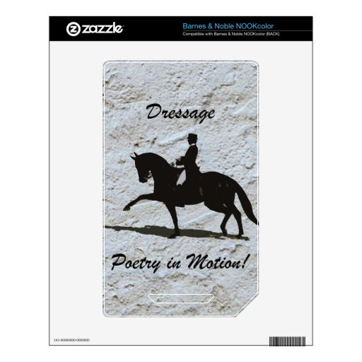 Dressage - Poetry in Motion Horse Skin For The NOOK Color