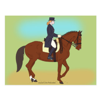 Dressage Post Cards