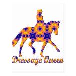 Dressage Queen Post Cards