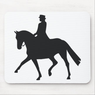 Dressage Rider Mouse Pad