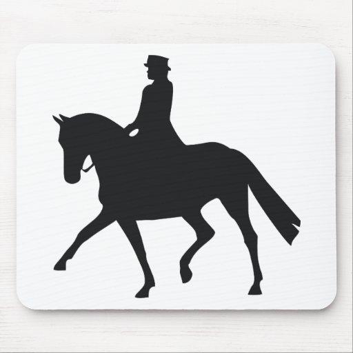 Dressage Rider Mousepad
