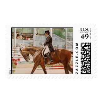 Dressage Rider Stamp
