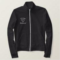 Dressage Riders Balanced Embroidered Fleece Jacket