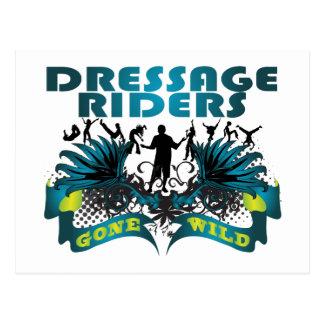 Dressage Riders Gone Wild Post Card