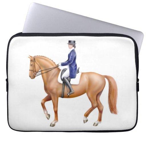 Dressage Show Horse Electronics Bag Computer Sleeve