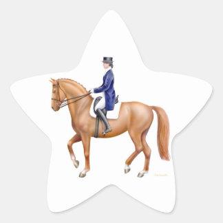 Dressage Show Horse Sticker