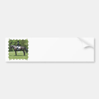 Dressage Show Ring Bumper Stickers