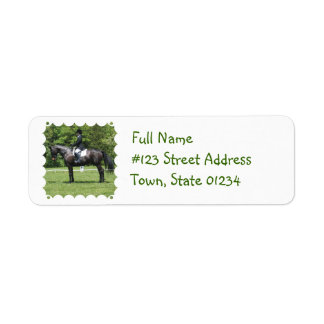 Dressage Show Ring Mailing Label