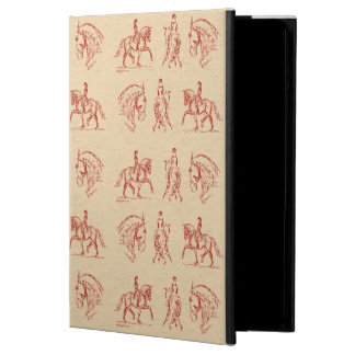 Dressage Sketches iPad Case
