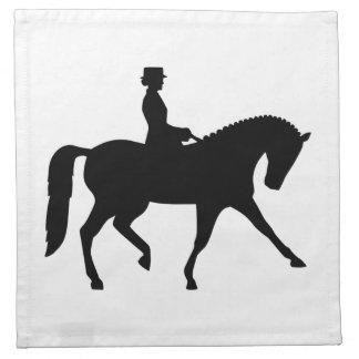 Dressage sports cloth napkin
