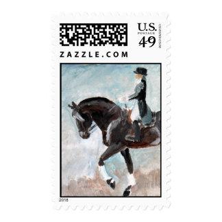 dressage stamp