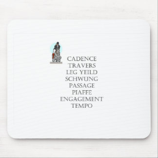 dressage terms mouse pad