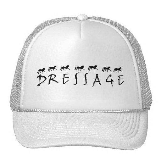 Dressage (text and horses) hat