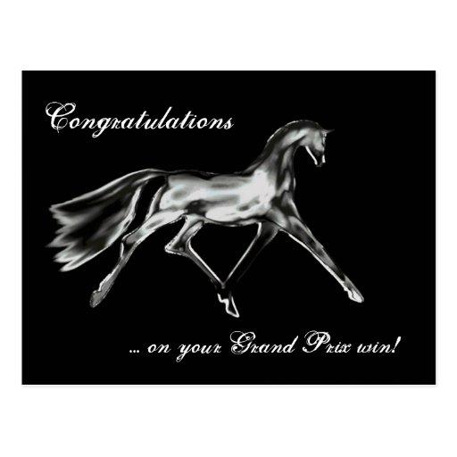 """Dressage Win (Grand Prix) ~ Postcard"