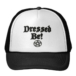 Dressed Be Black Mesh Hat