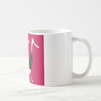 Dressed ducks  coffee mug