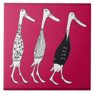 dressed ducks tile