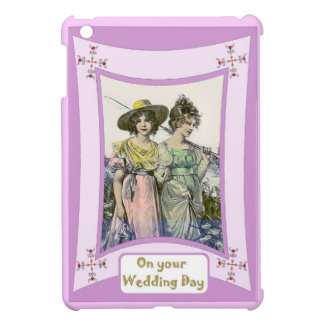 Dressed for a wedding iPad mini cover