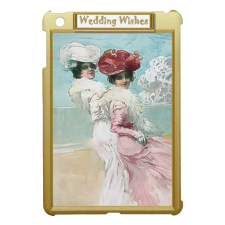 Dressed for the wedding iPad mini case
