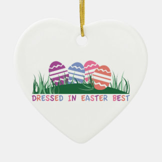 Dressed In Easter Best Christmas Ornaments