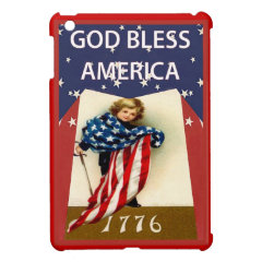 Dressed in the flag iPad mini covers