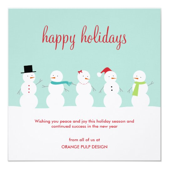 business holiday greeting