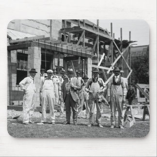 Dressed to Build: 1923 Mouse Pad