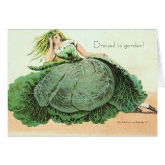 Dressed to garden!  Owlsroost Card
