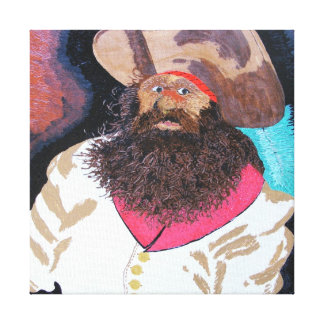 "Dressed to kill ""Blackbeard"" Canvas Print"