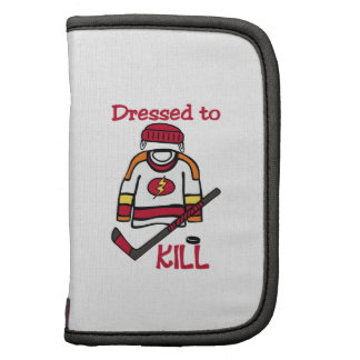 Dressed To Kill Folio Planners