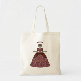 Dressed-up Angel Tote Bag
