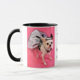 Dressed Up Chihuahua Mug