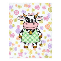 Dressed Up Cow Card