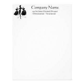 Dressed Up Letterhead