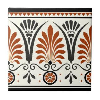 Dresser Minton Palmette Tile Repro Document Colors