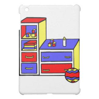 dresser primary colored iPad mini case