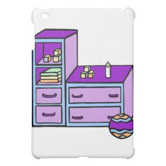 dresser purple blue cover for the iPad mini