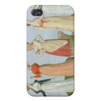 Dresses and costumes in vogue case for iPhone 4