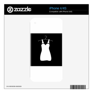 Dresses for evening party iPhone 4S decal