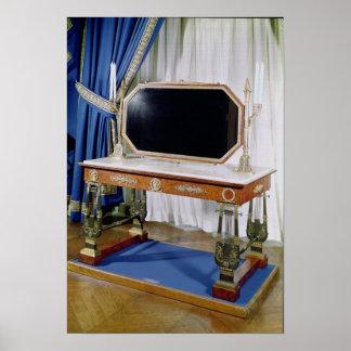 Dressing table belonging to Empress Josephine Poster