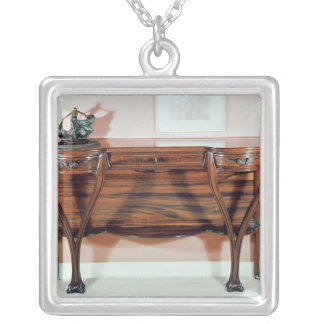 Dressing-table Silver Plated Necklace