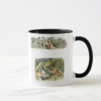 Dressing the Baby Elves, and Rejected!, illustrati Mug