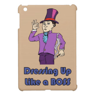 Dressing up case for the iPad mini