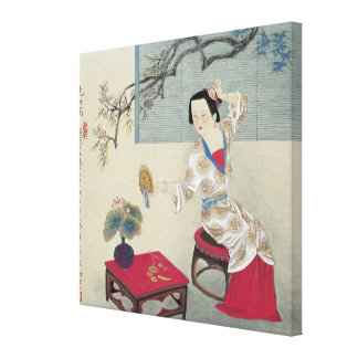 Dressing up in the Morning Canvas Print