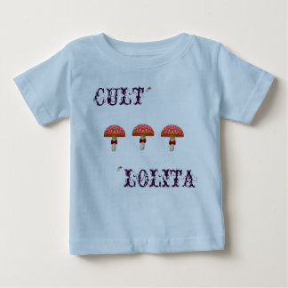 Dressing up mushroom BABY T shirt